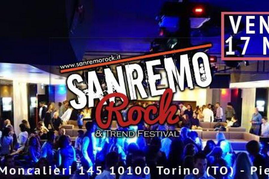 MAR 17 Marzo Sanremo Rock Festival-Audizioni Piemonte- alla discoteca Banus