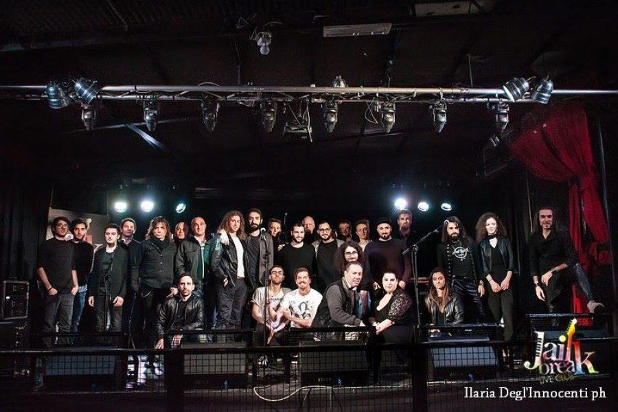 Audizioni live del Sanremo ROCK presso Club affiliato JAILBREAK LiveClub Roma