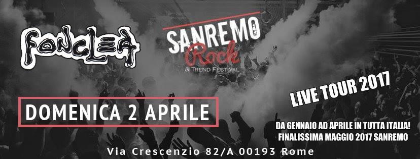 Domenica 2 Aprile ultima di Audizioni per la Regione Lazio al Fonclea pub di Roma.