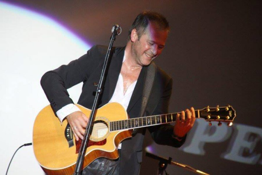 Diretta radio il Sanremo rock ai microfoni di Radio Irene network intervistati da Valerio Zelli