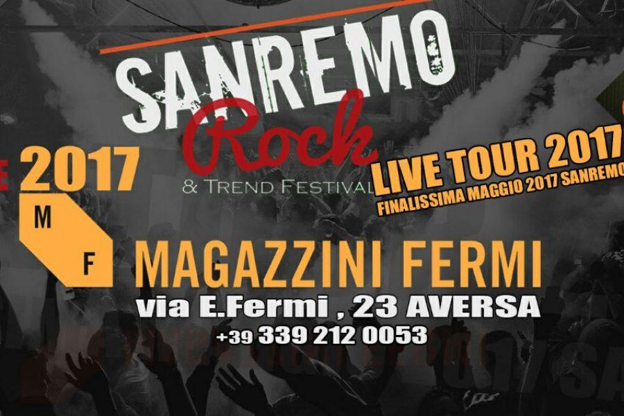 Giovedì 6 Aprile 2017 Audizioni live Sanremo Rock Regione Campania.