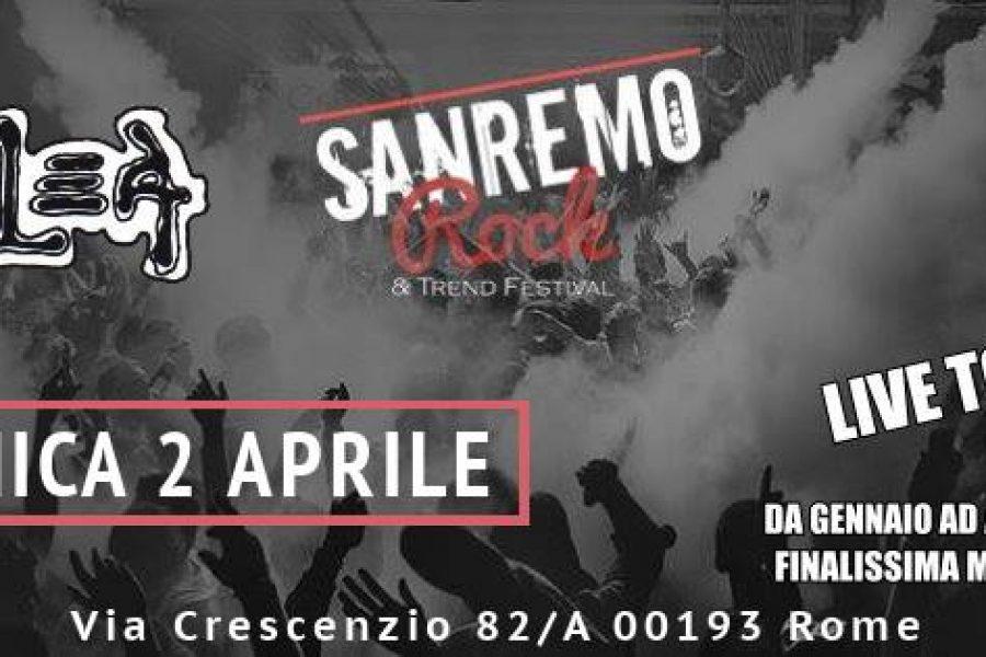 Questa sera il Sanremo Rock fa doppia tappa Roma e Milano Hanno scritto dell'evento: