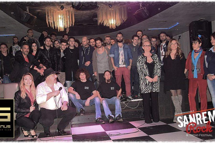 """Sanremo Rock Video BackStage & Album integrale ora disponibili on line """"Audizioni Piemonte"""" discoteca Banus Torino."""