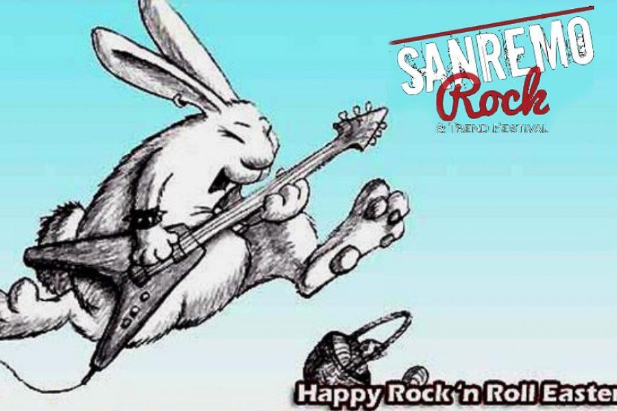 Auguri di una felice Pasqua a tutti dallo staff di Sanremo Rock.
