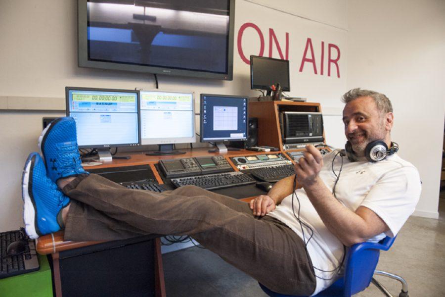 Alex Peroni la voce storica dei network radiofonici al timone della conduzione di Sanremo rock 30° edizione.