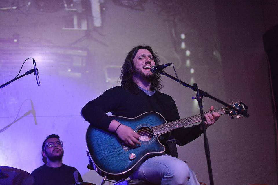 Luca Ruzza da Caserta al Sanremo Rock 31°