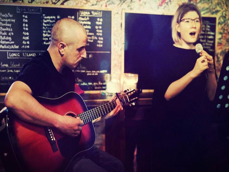 August duo acustico al Sanremo Rock 31° Edizione