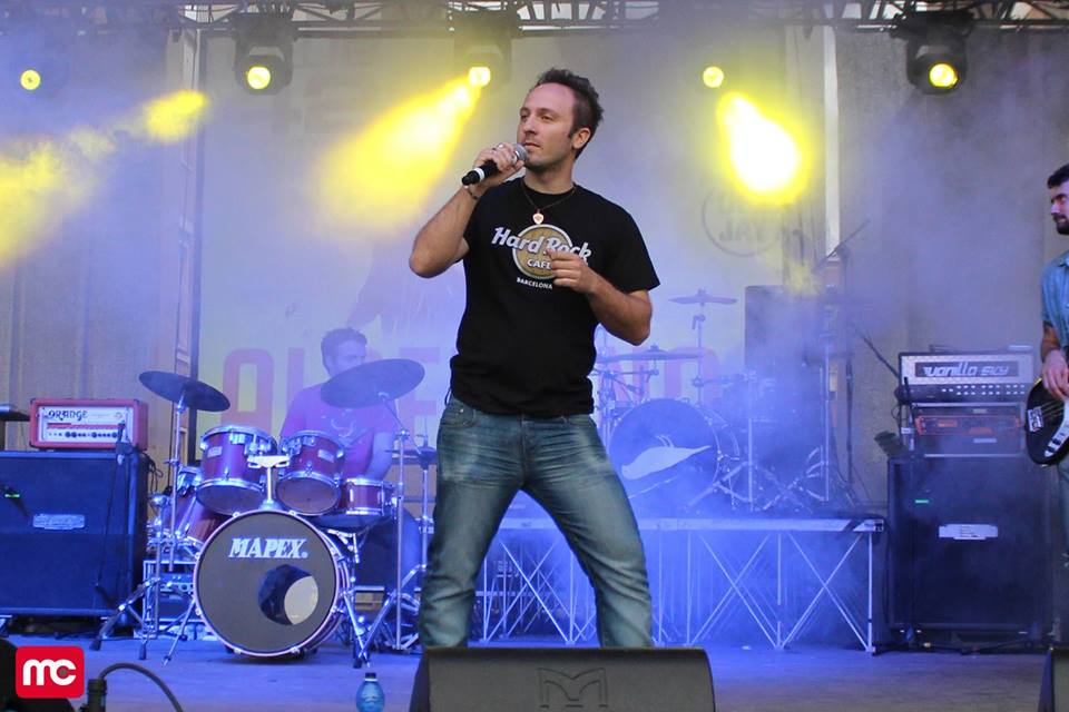 Massimiliano Carocci al Sanremo Rock 31°