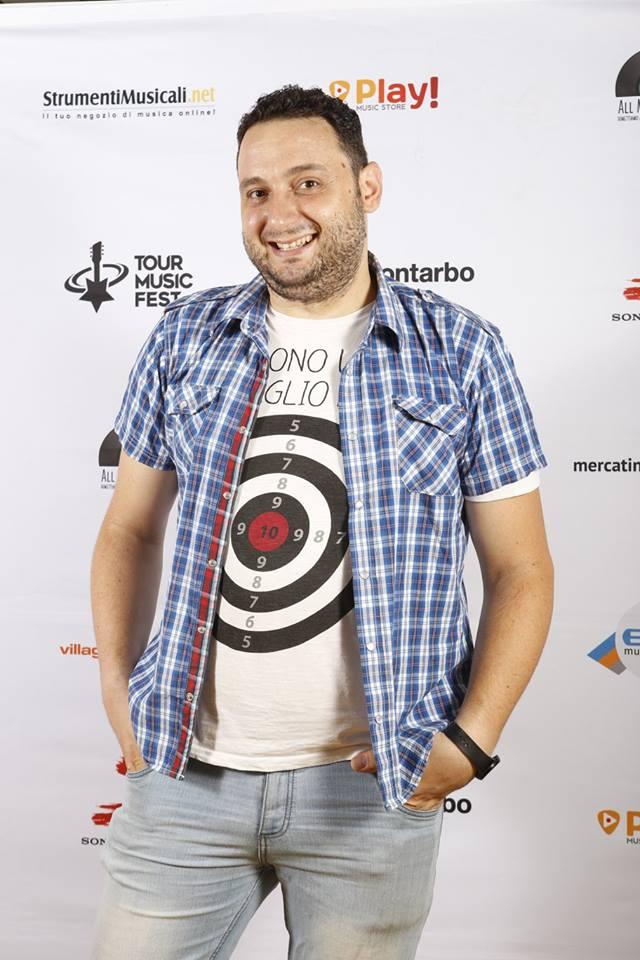 Mario Colletti nella sezione cantautori del Sanremo Rock&Trend