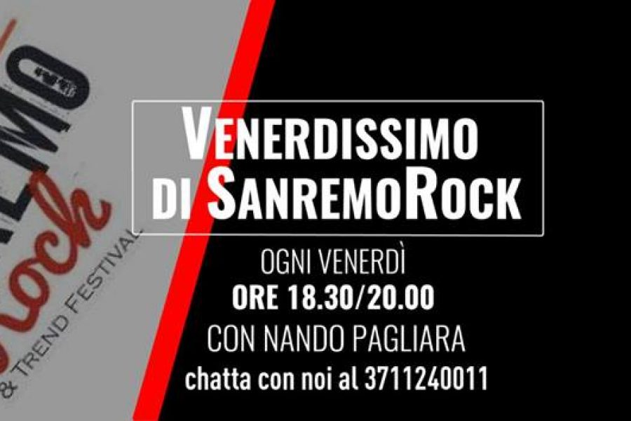 Venerdissimo di Sanremo Rock on Air