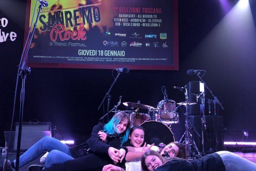 Sanremo Rock Toscana 1° Girone