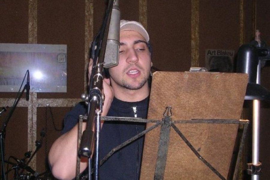 Bruno Mosca al Sanremo Rock