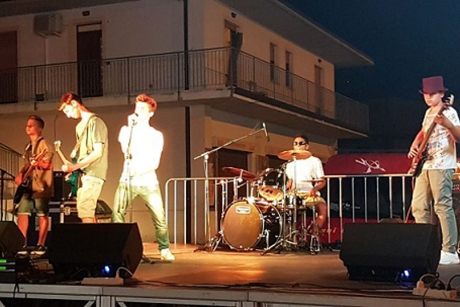 I Giovanissimi Black Mirror al Sanremo Rock