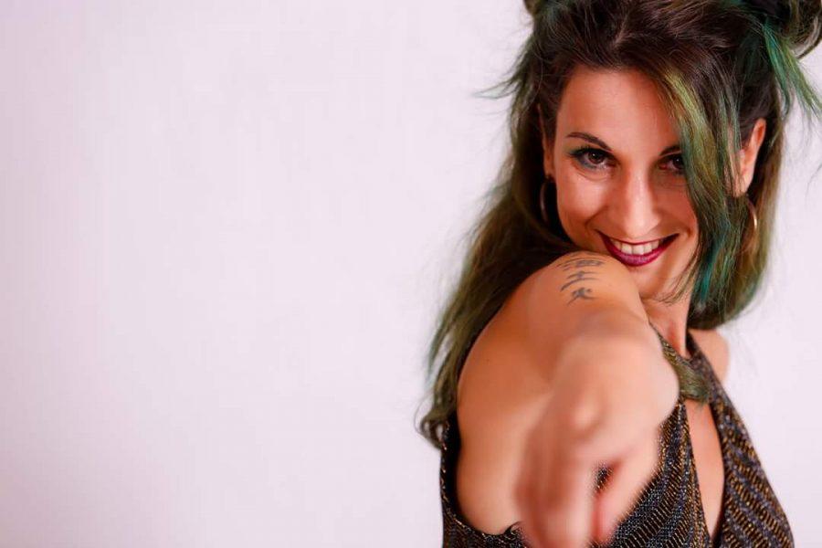Virginia Menegazzi alla 31^ di Sanremo Rock