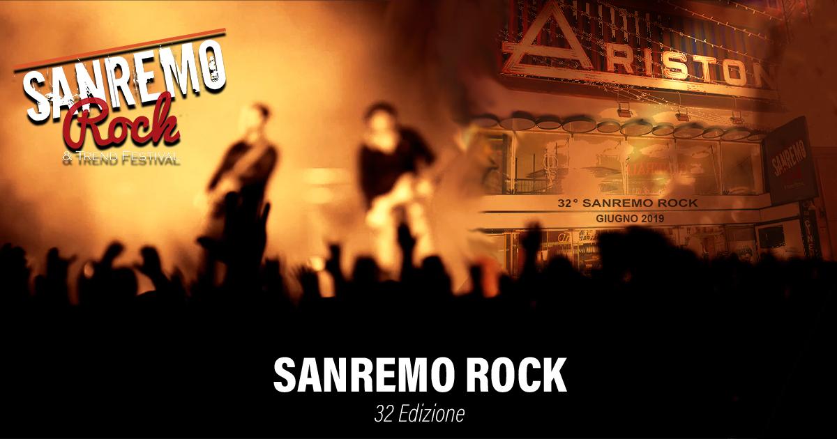Sanremo Rock Finali & Finalissima dal 4 al 7 Giugno 2019