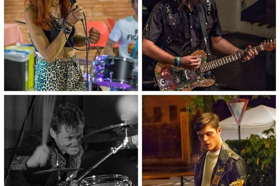 Gli EcoFibra Band alla 32^ di Sanremo Rock Festival!
