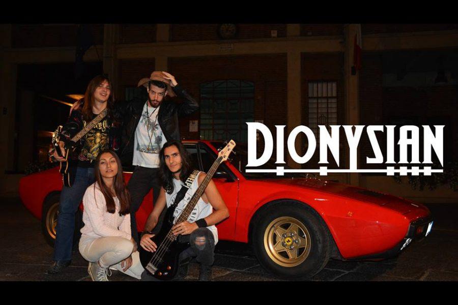 Dionysian band alla 32^ di Sanremo Rock!