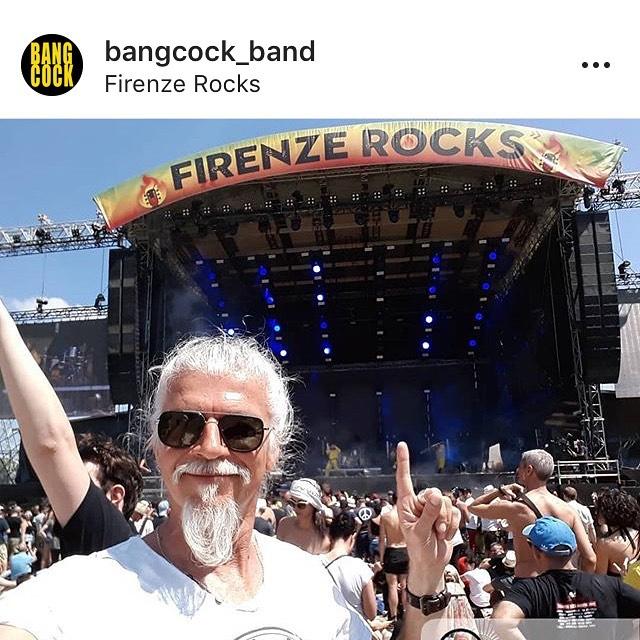 Da Sanremo Rock al Firenze Rocks con i Bangcock!