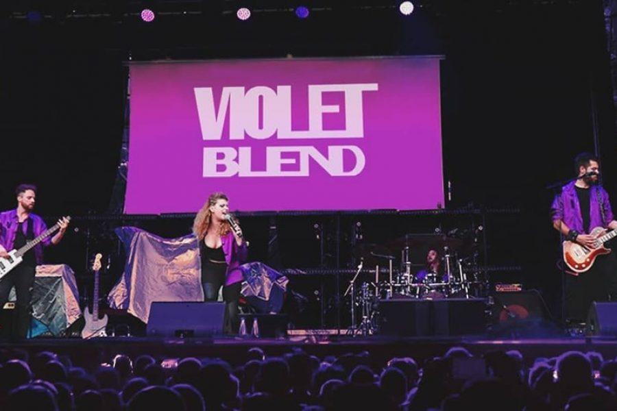 VIOLET BLEND sul palco coi GARBAGE… UN TRIONFO!