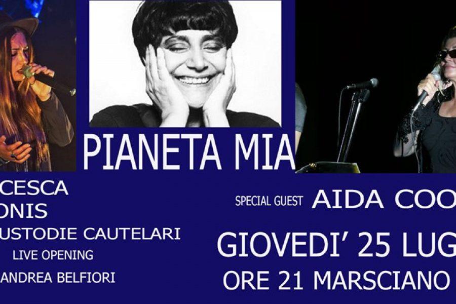 Questa sera PIANETA MIA in apertura Andrea Belfiori e De Bonis!