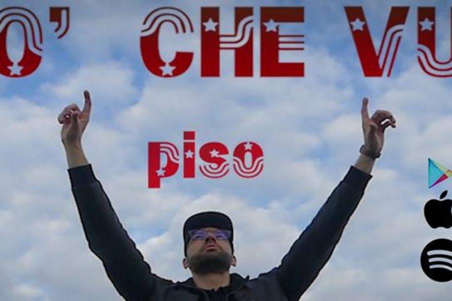Alessandro Pisoni, in arte Piso alla 33^ di Sanremo Rock!