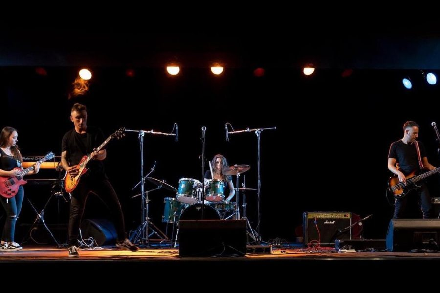Monkeys band Toscana alla 33^ di Sanremo Rock!
