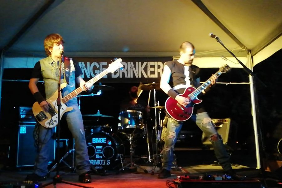 Binge Drinkers Band alla 33^ di Sanremo Rock!