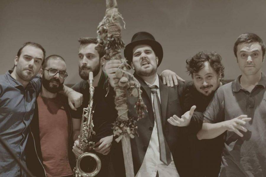 Hintermann Gaboh e gli Sciamani a Sanremo Rock