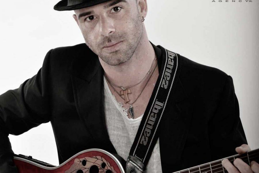 Alessio D'Agostino alla 33^ Cantautori Sanremo Rock!