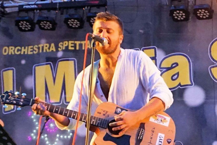Davide Paleotti alla 33^ live tour di Sanremo Rock!