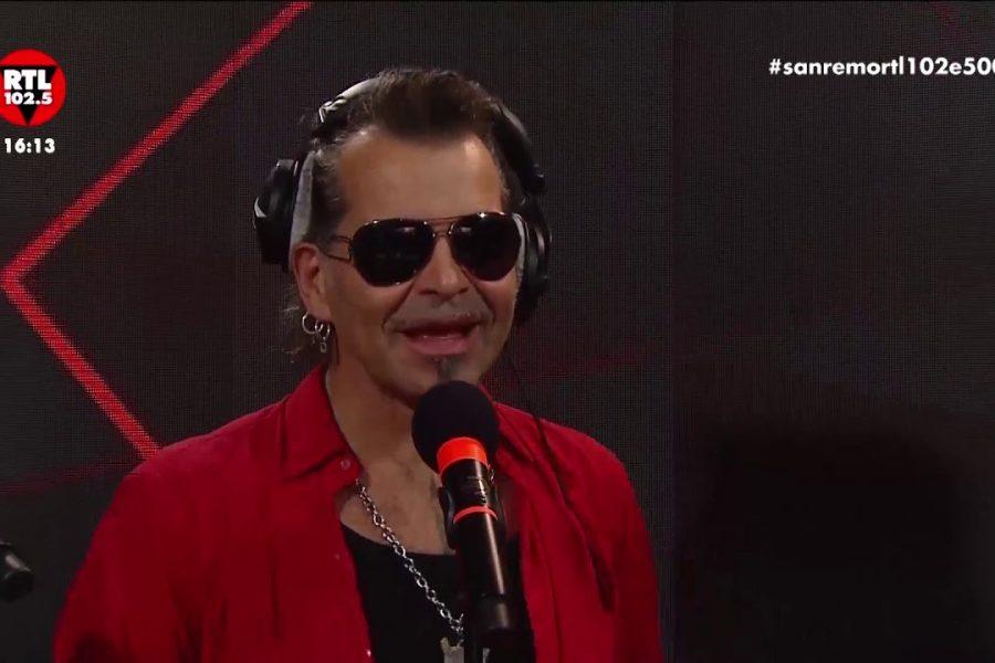 Piero Pelù Litfiba a RTL parla del suo Sanremo Rock 88!