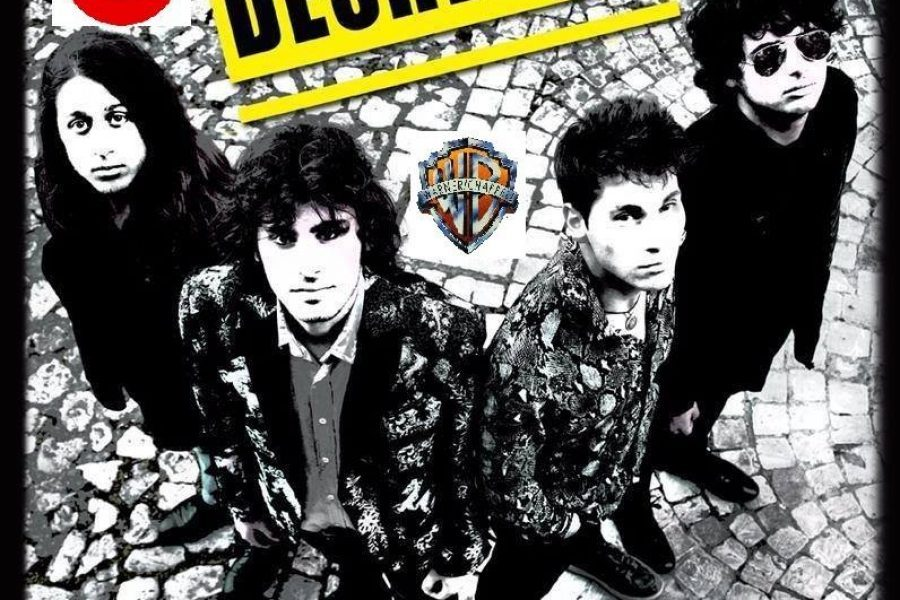 """Deshedus da Sanremo Rock a """"CODICE ROSSO""""Produzione M.Paoluzzi"""