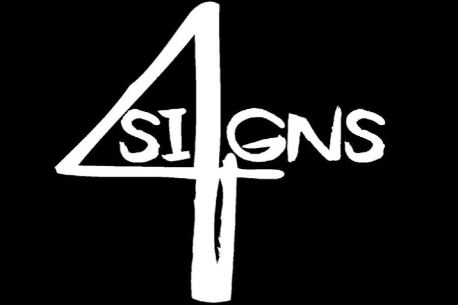 4 Signs da Cosenza alla 33^ di Sanremo Rock!