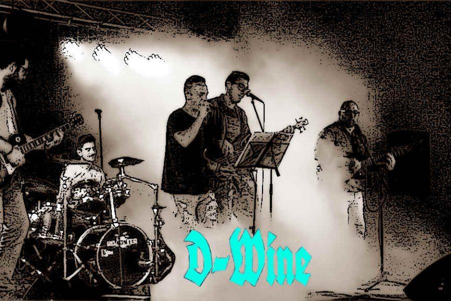 D-Wine da Foggia alla 33^ di Sanremo Rock!