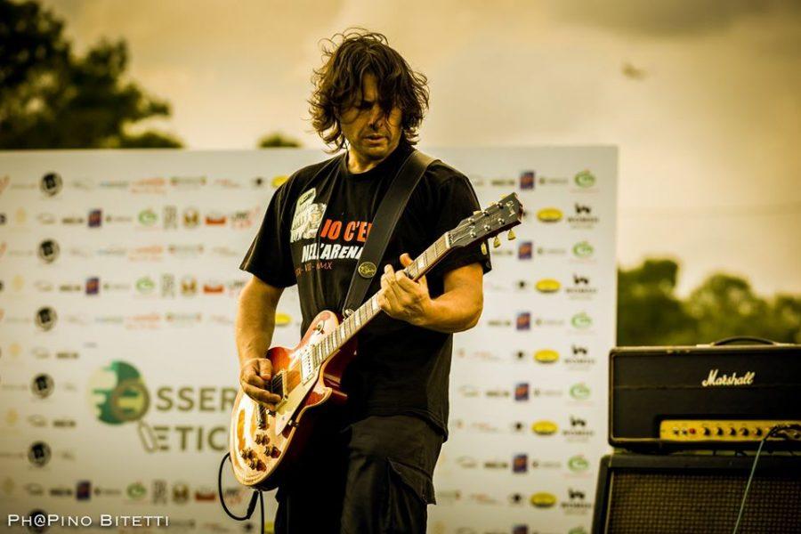Pino Bitetti alle finali regionali del Lazio di Sanremo Rock!