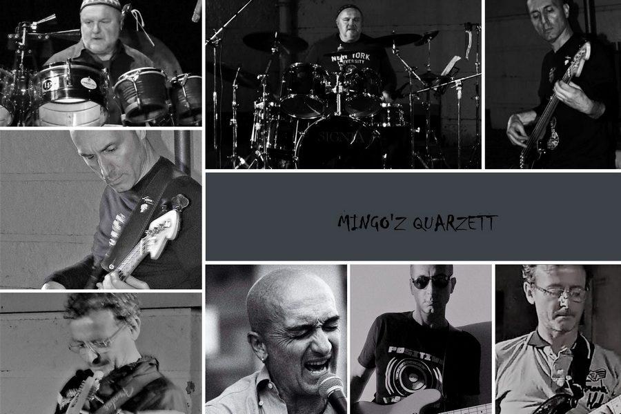 Mingo'z Quarzett alla 33^ di Sanremo Rock!
