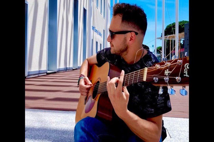Donato Scioletti alla 33^ di Sanremo Rock