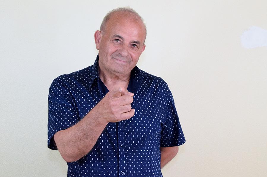 Salfi Cantautore alla 33^ di Sanremo Rock!
