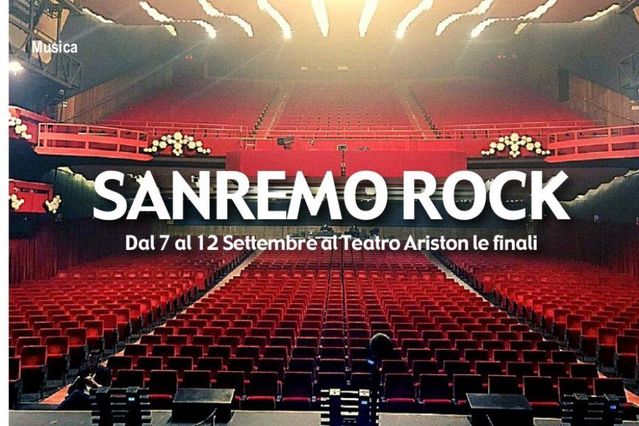 Sanremo Rock 33^ed.2020 il programma…..e… VIA SI PARTE!!!!