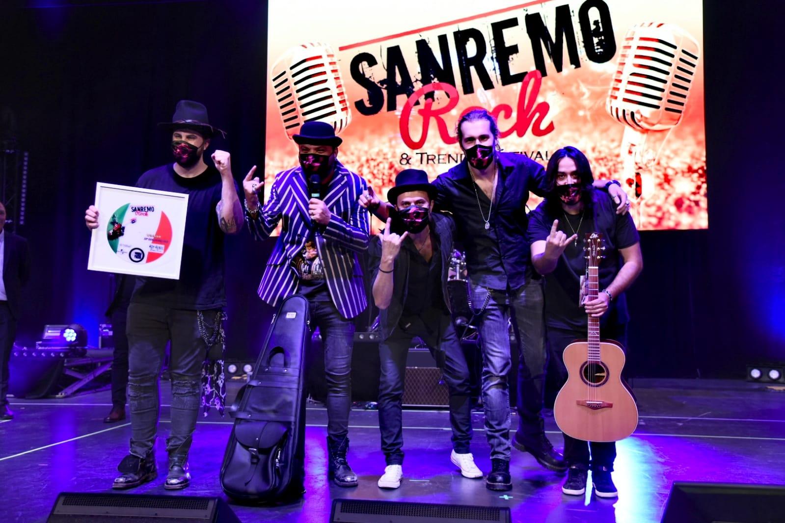 I vincitori della 33 edizione di Sanremo Rock & Trend