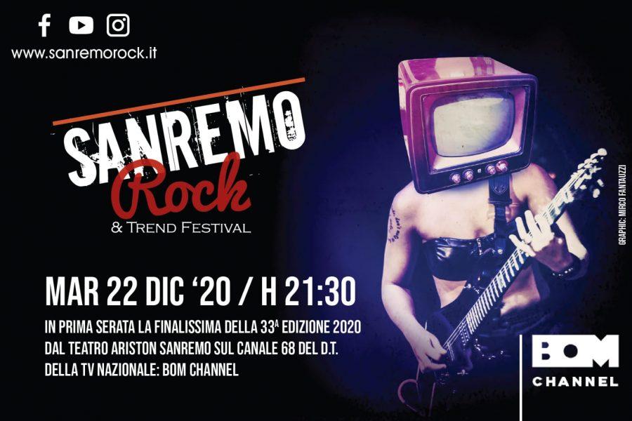 22 Dicembre ore 21,30 in prima tv nazionale Sanremo Rock & Trend la puntata…..